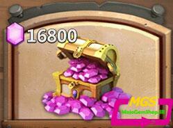 ۱۶۸۰۰ الماس Castle Clash