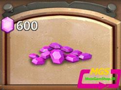 ۶۰۰ الماس Castle Clash