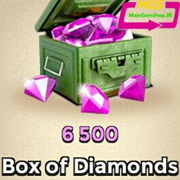 بسته ۶۵۰۰ تایی الماس Boom Beach