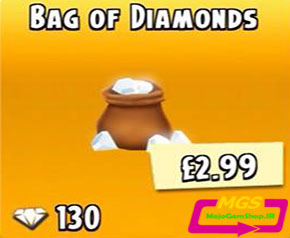 ۱۳۰ الماس بازی Hay Day