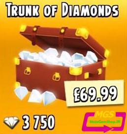 ۴۰۰۰ الماس بازی Hay Day