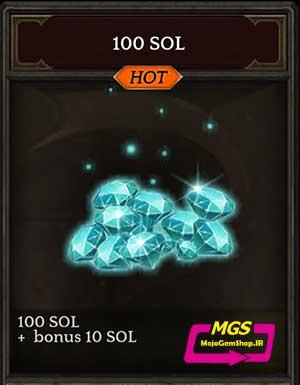 ۱۰۰ Sol بازی Darkness Reborn