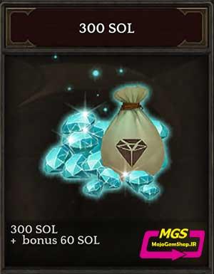 ۳۰۰ Sol بازی Darkness Reborn