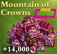 ۱۴۰۰۰ تاج بازی Dominatios