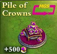 ۵۰۰ تاج بازی Dominatios