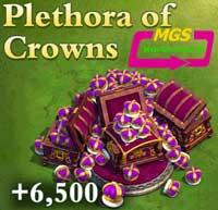 ۶۵۰۰ تاج بازی Dominatios