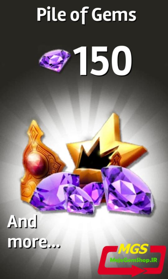 ۱۵۰ جم بازی Siegefall