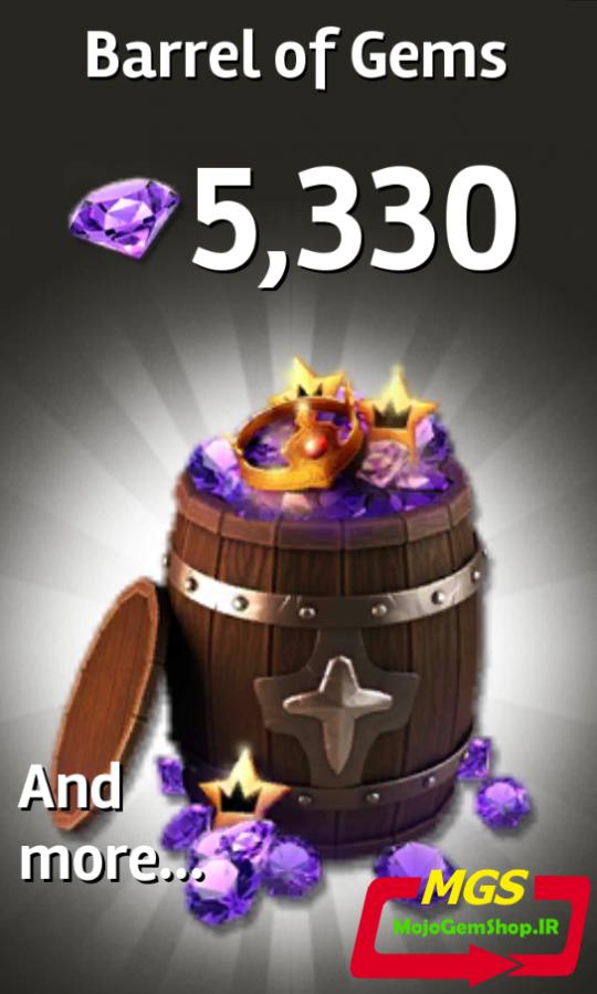 ۵۳۳۰ جم بازی Siegefall
