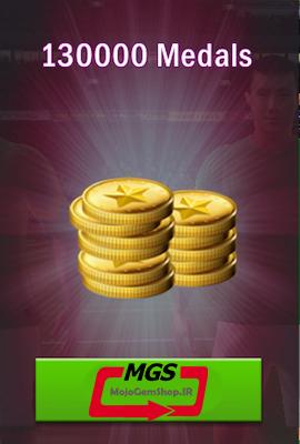 ۱۳۰,۰۰۰ سکه بازی Top Eleven