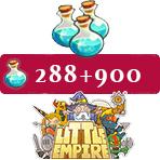 ایونت ۹۰۰ + ۲۸۸ تایی موجو