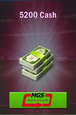 ۵۲۰۰ دلار بازی Top Eleven