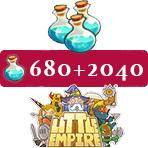 ایونت ۲۰۴۰ + ۶۸۰ تایی موجو