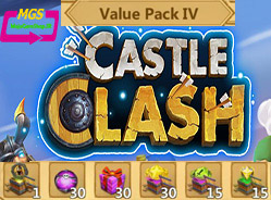 ایونت Value Pack 4 بازی Castle clash