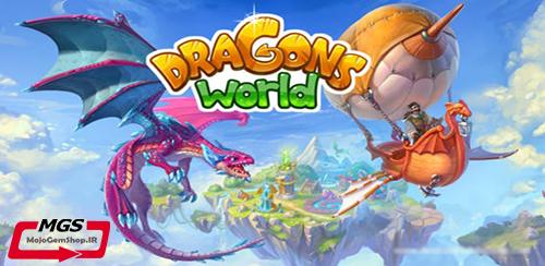 خرید جم، غذا و سکه در بازی Dragon World