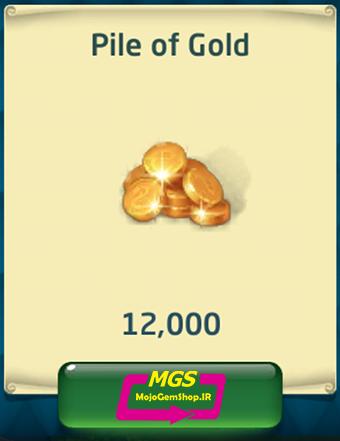بسته ۱۲۰۰۰ سکهDragon World