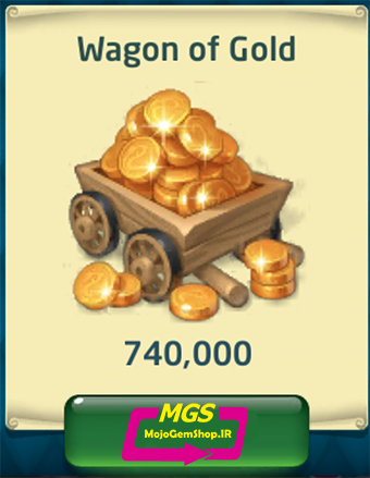 بسته ۷۴۰,۰۰۰ سکه Dragon World