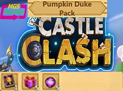 ایونت Pumpkin Duke بازی Castle clash