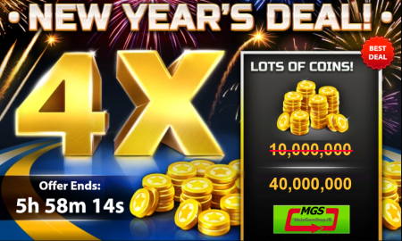 ایونت (۴۰٫۰۰۰٫۰۰۰ سکه) NEW YEAR'S DEAL
