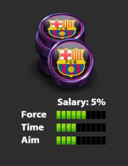 مهره دوم بارسلونا Soccer Stars