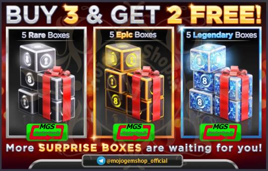 ایونت Buy 3 and Get 2 Free بازی Ball Pool 8