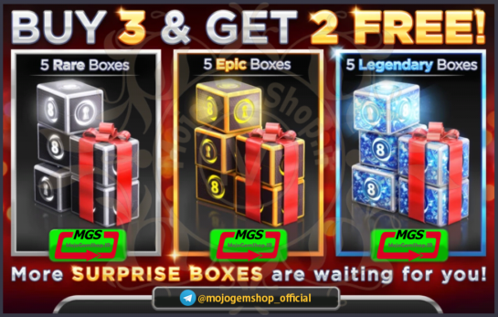 boxes 8pool