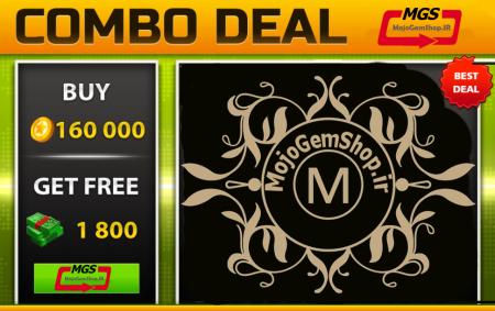 ایونت Combo Deal! 2 (شامل ۱۸۰۰ دلار، ۱۶۰،۰۰۰ سکه)