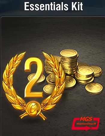 ۲ روز اکانت پرمیوم + ۵۰۰ سکه بازی World of Tanks Blitz