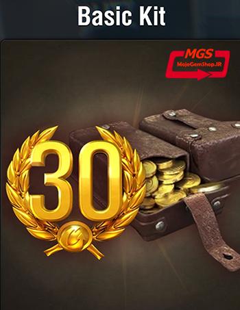 ۳۰ روز اکانت پرمیوم + ۶۰۰۰ سکه بازی World of Tanks Blitz