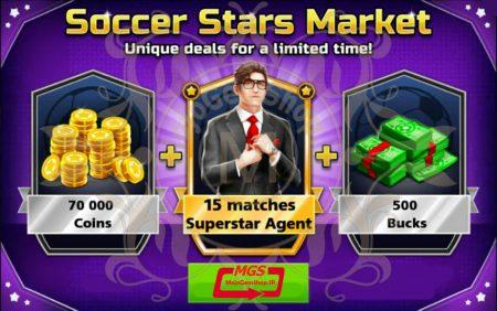 ایونت *Soccer Stars Market* بازی ساکر استارز