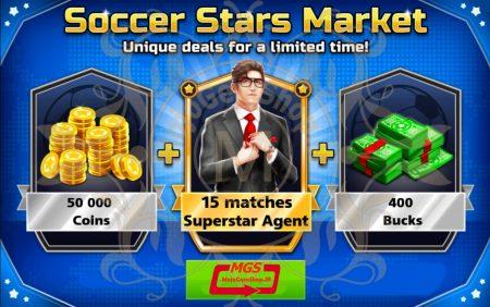 ایونت Soccer Stars Market بازی ساکر استارز