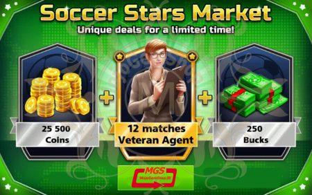 ایونت *Soccer Stars Market بازی ساکر استارز