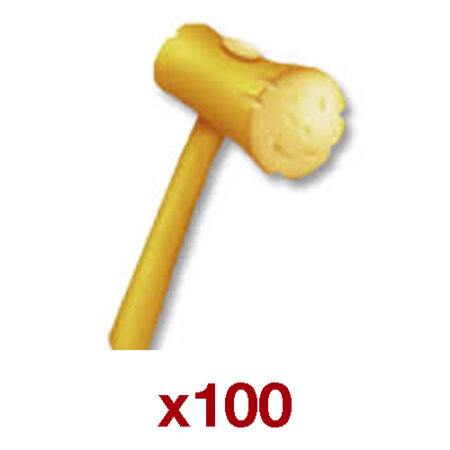 ۱۰۰ Mallets بازی Hay Day