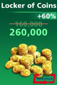 بسته ۲۶۰,۰۰۰ سکه بازی Football Strike