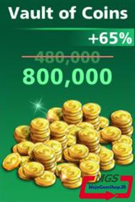 بسته ۸۰۰,۰۰۰ سکه بازی Football Strike