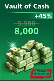 بسته ۸۰۰۰ دلار بازی Football Strike