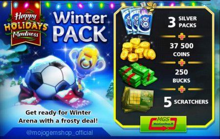 ایونت Winter Pack (شامل ۳ پک نقره ای، ۲۵۰ دلار، ۳۷۵۰۰ سکه و ۵ اسکرچ)