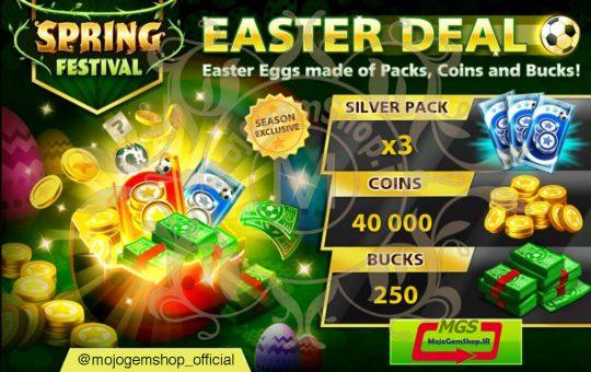 ایونت Spring Festival (شامل ۲۵۰ دلار، ۳ بسته برنزی و ۴۰ هزار سکه)