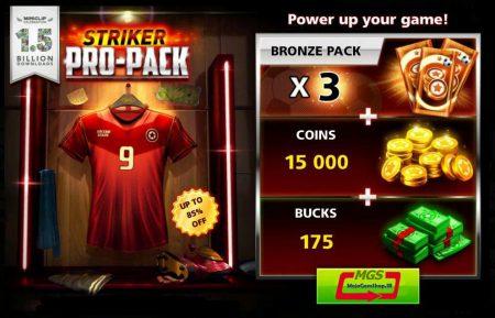 ایونت Pro Pack (شامل ۱۷۵ دلار و ۳ برنز پک و ۱۵ هزار سکه)
