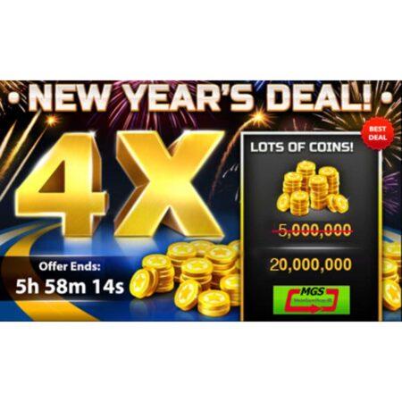 ایونت ویژه سکه بازی ساکر استارز (۵٫۰۰۰٫۰۰۰ سکه + ۱۵٫۰۰۰٫۰۰۰ سکه هدیه)