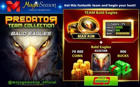 ایونت Predator (شامل ۹۰۰ دلار، مهره عقاب، آواتار عقاب و ۷۰ هزار سکه)