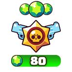 ۸۰ جم بازی Brawl Stars
