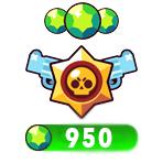 ۹۵۰ جم بازی Brawl Stars