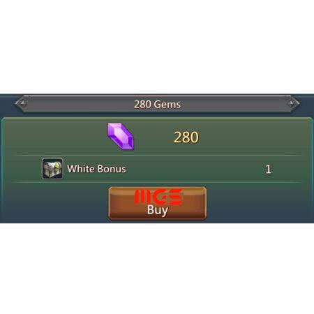 خرید ۲۸۰ جم بازی Lords Mobile