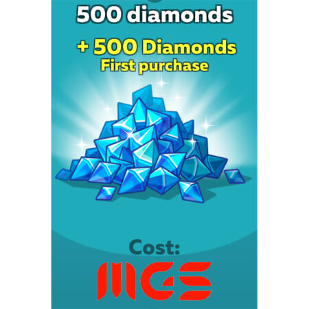 خرید ۵۰۰ الماس بازی Hustle Castle