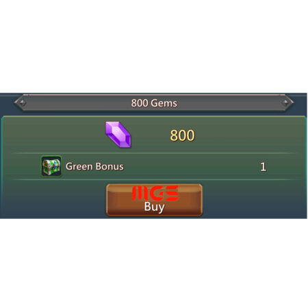 خرید ۸۰۰ جم بازی Lords Mobile