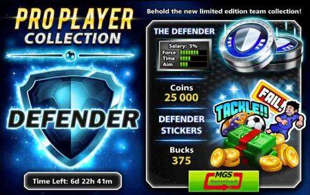 ایونت Pro Player (شامل ۳۷۵ دلار، ۲۵ هزار سکه، مهره و استیکر ویژه)