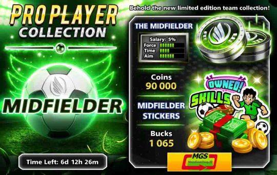 ایونت Pro Player (شامل ۸۷۵ دلار، ۶۲ هزار سکه، مهره و استیکر ویژه)