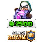 بسته ۲۵۰۰ تایی جم Clash Royale