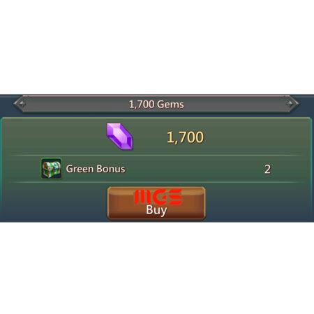 خرید ۱۷۰۰ جم بازی Lords Mobile