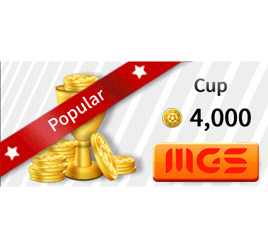 خرید بسته Cup ۴۰۰۰ سکه بازی Dream League Soccer 2019